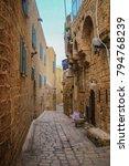 tel aviv city center and jaffa   Shutterstock . vector #794768239