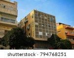 tel aviv city center and jaffa   Shutterstock . vector #794768251