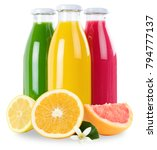 juice smoothie smoothies in... | Shutterstock . vector #794777137