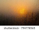 rain drops on window | Shutterstock . vector #794778565