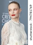 Small photo of Kate Bosworth at the 23rd Annual Critics' Choice Awards held at the Barker Hangar in Santa Monica, USA on January 11, 2018.
