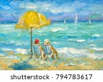 Landscape Oil Painting   Two...