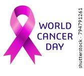 world cancer day awareness | Shutterstock .eps vector #794791261