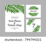 floral illustration for... | Shutterstock .eps vector #794794321
