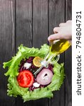 Small photo of Healthy and tasty salat is easy to make