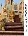 the royal crematorium nagas...   Shutterstock . vector #794807785