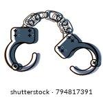 handcuffs icon image