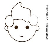 cartoon man icon | Shutterstock .eps vector #794820811