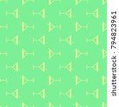seamless pattern background... | Shutterstock .eps vector #794823961