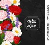 colorful design elements for... | Shutterstock .eps vector #794832301