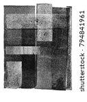 vintage halftone print texture... | Shutterstock . vector #794841961