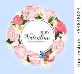 colorful design elements for... | Shutterstock .eps vector #794848024