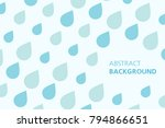 colorful abstract background.... | Shutterstock .eps vector #794866651