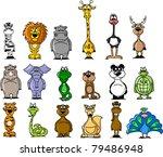 big set of various cartoon... | Shutterstock .eps vector #79486948