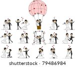 wedding pictures  love the... | Shutterstock .eps vector #79486984