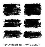 vector grunge banners.grunge... | Shutterstock .eps vector #794886574