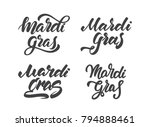 vector illustration  set of... | Shutterstock .eps vector #794888461