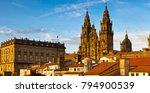 santiago de compostela... | Shutterstock . vector #794900539