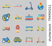 icons set about transportation. ... | Shutterstock .eps vector #794904211