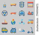 icons set about transportation. ... | Shutterstock .eps vector #794904871