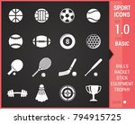 big stock of sports icon on...   Shutterstock .eps vector #794915725