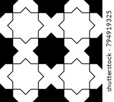seamless surface pattern design ...   Shutterstock .eps vector #794919325
