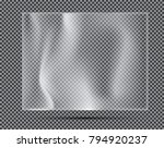 transparent light polyethylene... | Shutterstock .eps vector #794920237