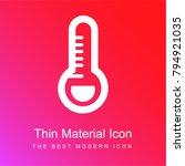 thermometer medical fever... | Shutterstock .eps vector #794921035