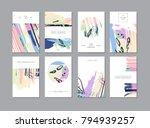 set of creative universal... | Shutterstock .eps vector #794939257
