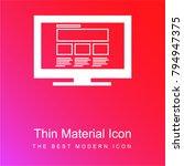 responsive website design on... | Shutterstock .eps vector #794947375