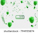 celebration background template ... | Shutterstock .eps vector #794955874