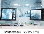 x ray monitoring of brain... | Shutterstock . vector #794977741