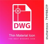 dwg file format variant red and ...