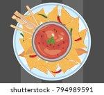 a vector illustration in eps 10 ... | Shutterstock .eps vector #794989591