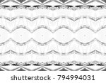 black and white rectangle...   Shutterstock . vector #794994031