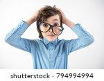 oh my god. portrait of...   Shutterstock . vector #794994994