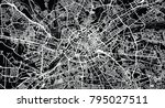 urban vector city map of... | Shutterstock .eps vector #795027511