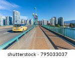 view of taxi on cambie street... | Shutterstock . vector #795033037