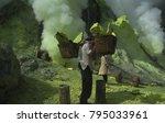 banyuwangi regency indonesia  ... | Shutterstock . vector #795033961