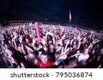 cluj napoca  romania   august 6 ... | Shutterstock . vector #795036874