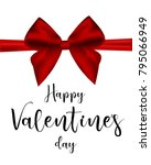happy valentine's day banner...   Shutterstock .eps vector #795066949