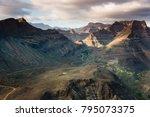 beautiful panoramic view over...   Shutterstock . vector #795073375
