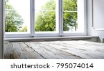 window of spring time and... | Shutterstock . vector #795074014
