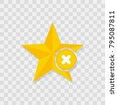 star favorite sign web icon... | Shutterstock .eps vector #795087811