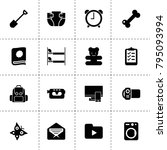 single icons. vector collection ...