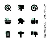 choice icons. vector collection ...