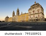 View Of The Convent Of Mafra At ...