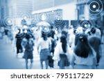 big data   iot   internet of... | Shutterstock . vector #795117229