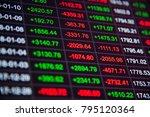 stock market chart or stock... | Shutterstock . vector #795120364
