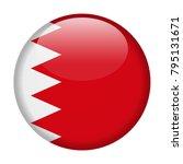 bahrain flag vector round icon  ... | Shutterstock .eps vector #795131671